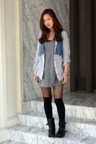 vest - shirt - f21 top - Dirty Laundry boots