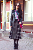 Zara jacket - Cambridge Satchel Company bag - asos skirt