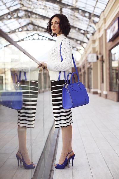 blue Rebecca Minkoff bag
