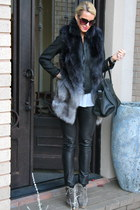 ankle boots brian atwood boots - leather bag Celine bag