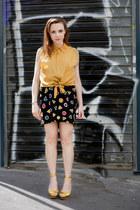 gold silk Hippy Market sacr coeur Paris shirt