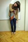 Navy-bershka-jeans-bronze-pull-bear-scarf-periwinkle-next-top-burnt-orang