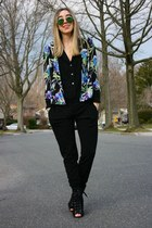 sky blue floral Elizabeth and James blazer