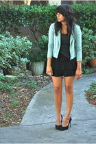 jacket - skirt - shirt - shoes
