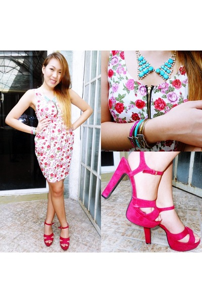 pink Forever21 shoes