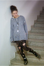 Gray-tiger-of-sweden-sweater-black-lindex-leggings-white-tights-silver-elo