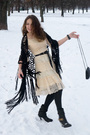 White-chloe-dress-black-river-island-scarf-black-only-leggings-black-purse