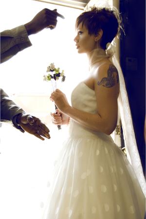 white davids bridal dress