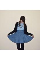 H&M cardigan - H&M skirt