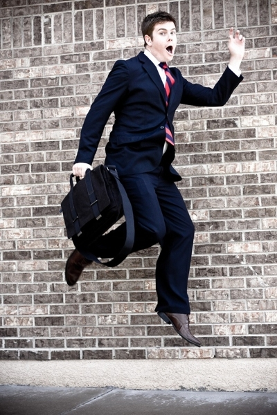 Perry Ellis suit - Hermes tie - Burberry shirt - Via Spiga shoes - Gap accessori