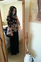 new look top - new look dress