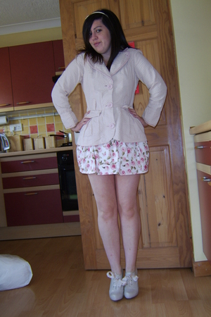 Hooch jacket - Topshop skirt - Peacocks shoes - Dorothy Perkins headband accesso