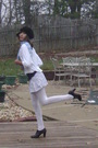 Black-mossimo-shoes-white-tights-blue-hollister-skirt-blue-new-york-co-s