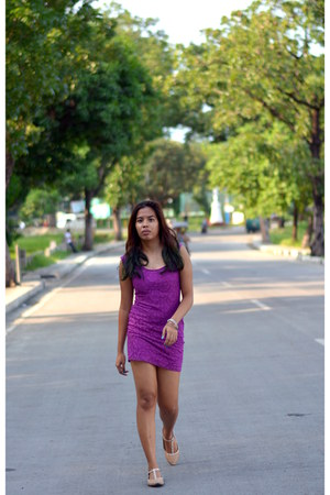 amethyst lace Zara dress
