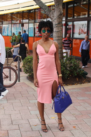 bubble gum Forever 21 dress