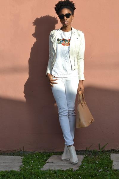 ivory H&M jacket