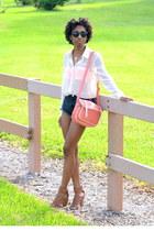 brown sandals JustFab heels
