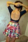 Forever-21-skirt-american-apparel-brown-thifted-belt