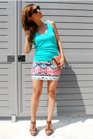 Bershka skirt - Aldo heels