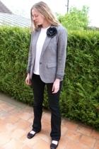 Gap blazer - American Apparel t-shirt - Zara jeans