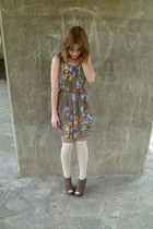 light brown next wedges - Matalan dress