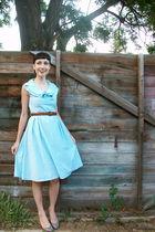 blue sagar dress