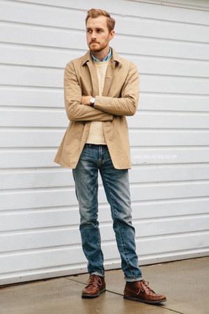 Muji coat