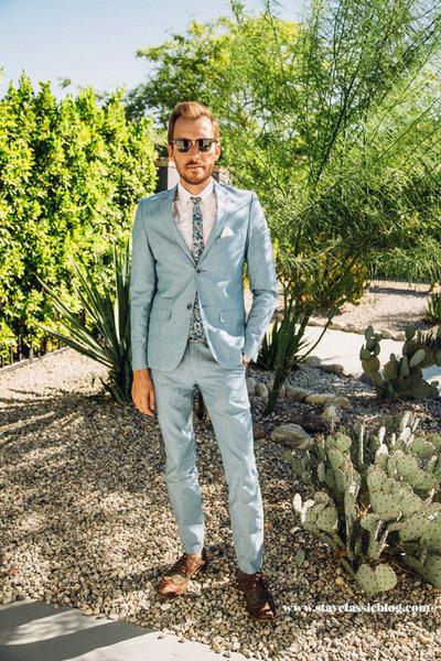 Paisley & Gray suit