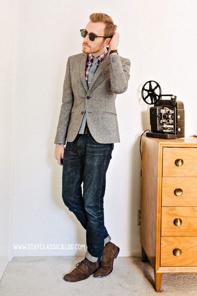 H&M blazer - J Crew tie