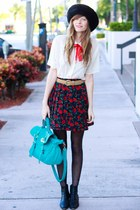 black Tea and Tulips skirt
