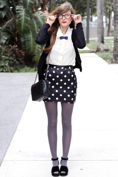 black Tea and Tulips skirt
