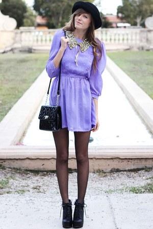 light purple Tea and Tulips dress