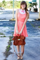 carrot orange Tea and Tulips dress