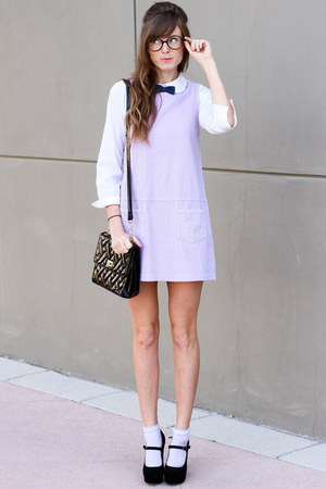 amethyst Tea and Tulips dress