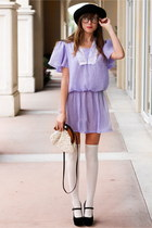 light purple Tea and Tulips dress