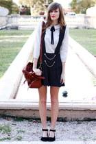 black Tea and Tulips romper - tan pepa loves blouse