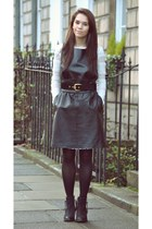 Temperley London dress - Topshop boots - BCBGMAZAZRIA top