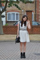 Lovestruck dress - Topshop boots