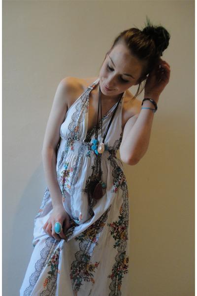 white maxi dress dress