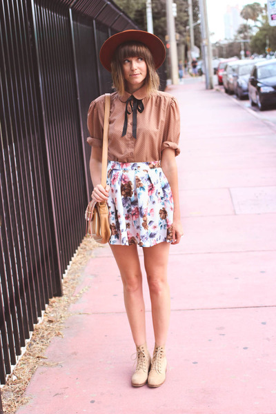 bubble gum insane jungle skirt