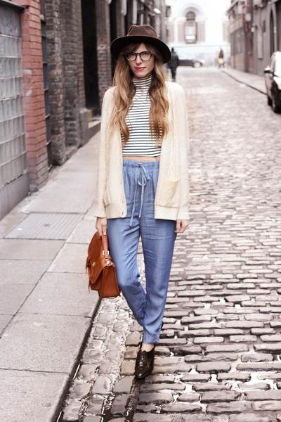 blue Forever21 pants