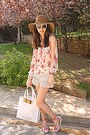 Camel-h-m-hat-ivory-ted-baker-bag-ivory-crochet-chicwish-shorts