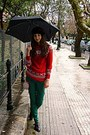 Ruby-red-snowflake-sweater-black-vintage-shoes-ruby-red-snowflake-bag