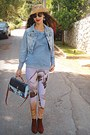 Burnt-orange-h-m-boots-light-blue-denim-pop-couture-jacket