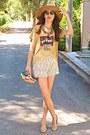 Camel-h-m-hat-yellow-submarine-diy-bag-ivory-crochet-chicwish-shorts