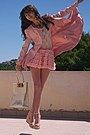 Light-pink-romwe-coat-ivory-ted-baker-bag