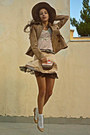 Nude-cupcake-diy-purse-camel-h-m-hat-camel-stradivarius-jacket