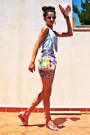 Aquamarine-worn-as-top-lulus-dress-cream-stradivarius-hat-light-yellow-tous-