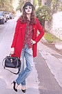 Red-vj-style-coat-sky-blue-diy-jeans-red-tartan-choies-shirt