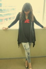 Black-cardigan-black-shoes-gray-leggings-black-top-red-topshop-necklace-